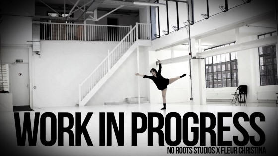 DANCE VIDEO: Work in progress…